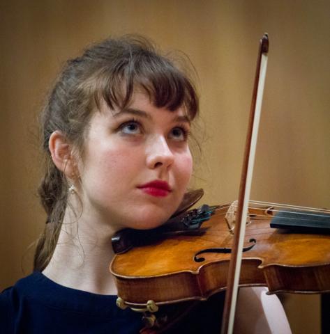 MIT orchestra violinist
